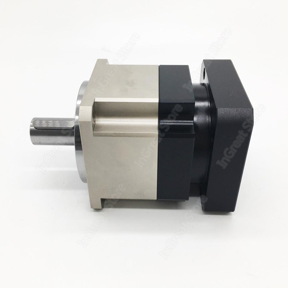 12:1 Helical Planetary Gearbox Ratio 12 Reducer 19mm 6000rpm for NEMA34 90mm 750W 1KW AC Servo Motor Robot
