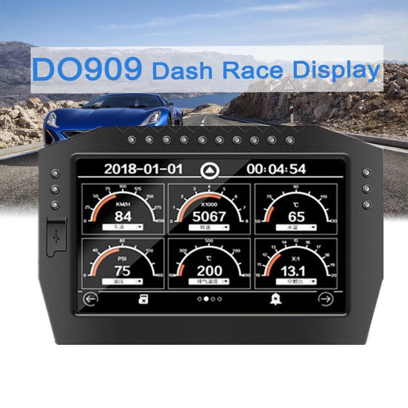 Автомобильная приборная панель, сенсорный экран, цифровой дисплей, датчик на голову, полный датчик, набор, ЖК экран, универсальный, 12 В, авто Guage DO909|Проекционный дисплей|   | АлиЭкспресс