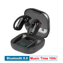 True HBQ PRO TWS หูฟังไร้สายบลูทูธ 5.0 สเตอริโอกีฬาหูฟัง 950mah กันน้ำชุดหูฟังหูฟัง MIC PK q32 Q62 headset headphones earphone xiaomi samsung iphone headfone earbuds microfone galaxy buds  tws wireless