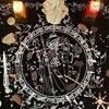 74x60cm Divination Altar Prayer Tablecloth Board Astrology Velvet Table Cloth