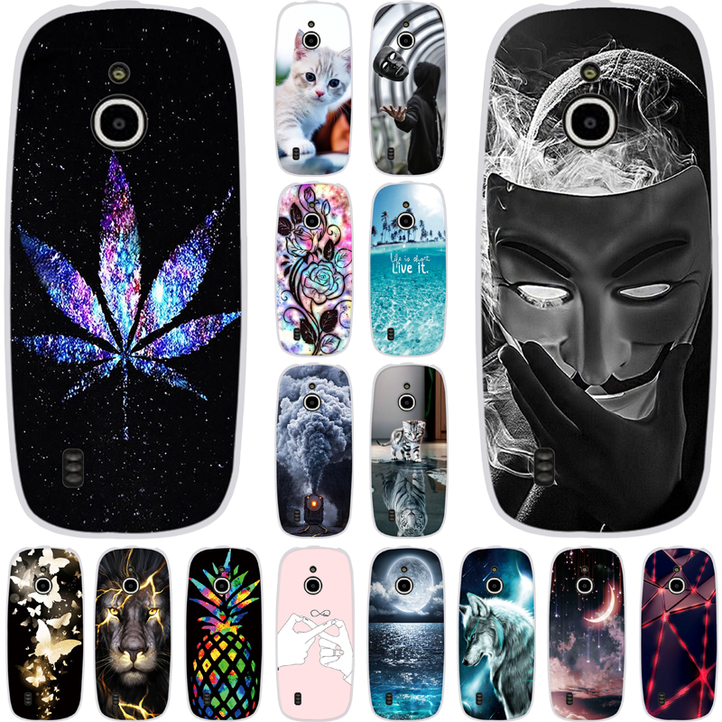 Phone Cover For <font><b>Nokia</b></font> <font><b>3310</b></font> <font><b>3G</b></font> 4G <font><b>Case</b></font> Silicone Soft TPU Protective Back Cover For <font><b>Nokia</b></font> <font><b>3310</b></font> <font><b>3G</b></font> <font><b>Cases</b></font> Painting Patterned Shells image