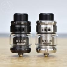 Kylin Mini V2 RTA Atomizer 316ss Single Coil 3ml/5ml capacity 24.4mm Rebuildable 510 Thread E-Cigarette Tank vs Zeus rta X Mesh