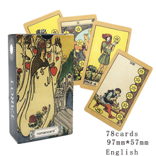 In2021The Most popular English Version  Palying Cards For Party Gamet  Tarot Deck 78 Cards Affectional Divination Fate Game Deck