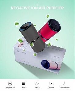 Image 3 - GIAHOL Mini Car Air Purifierไอออนแบบพกพาเครื่องฟอกอากาศUSBเครื่องฟอกอากาศAnion Air Freshenerสำหรับรถบ้านสำนักงาน