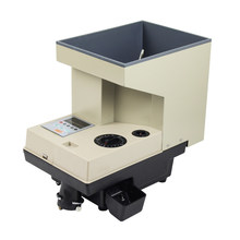 110v 220v Electronic Automatic Coin Sorter money Counter Coin Counting machine Counting range 1-999 pieces YT-618(China)