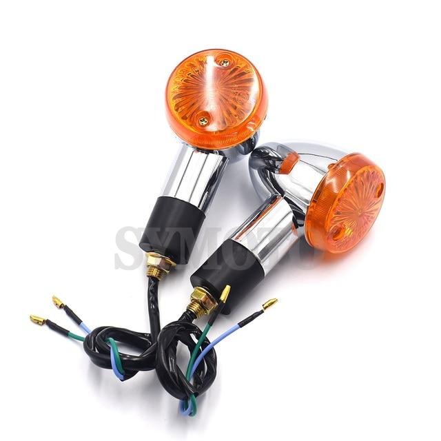 2PCS Motorrad Schwanz Lampe Blinker Für Honda Shadow Rebal CB VT VTX GL 1300 1800 Cruiser XV250 virago Drag Sterne DS400