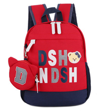 Children Backpack Mochila Infantil hildren bags Bag Cute Cartoon letter Kids Bags 5 Colors New