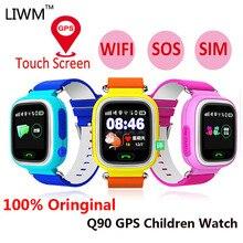 Q90 Antil-lost Gps Children Smart Watch Child Phone Kids