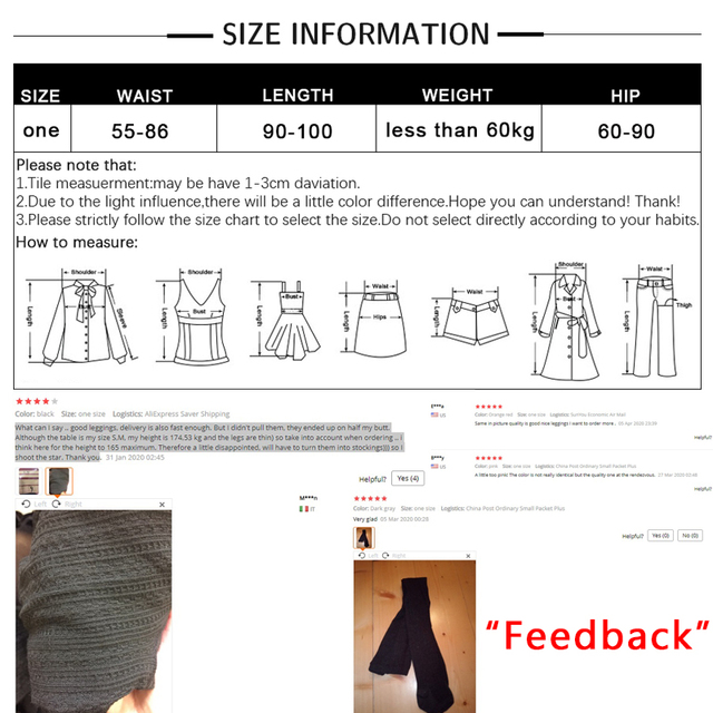 ALGUES 25%Spandex Winter Warm Leggings Women's Skinny Slim Stretch Knitted Thick Jeggings Solid High Quality Bottoming Pants 5