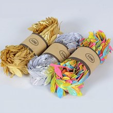 15mm Rattan green Lace Trim For Handmade DIY Craft Wreath Material Wedding Home Decoration Embroidery Ribbon Sewing Accessories