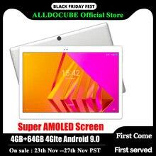 Alldocube X Neo Android 9.0 çift 4G LTE Tablet Snapdragon 660 4GB RAM 64GB ROM 10.5 inç süper Amoled ekran 2.5k 2560 × 1600 IPS