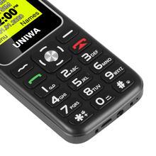 UNIWA V171 1.77″ 2G GMS Feature Phone Wireless FM Senior MobilePhone 1000mAh For Elderly People Cellphone Free Charging Dock SOS