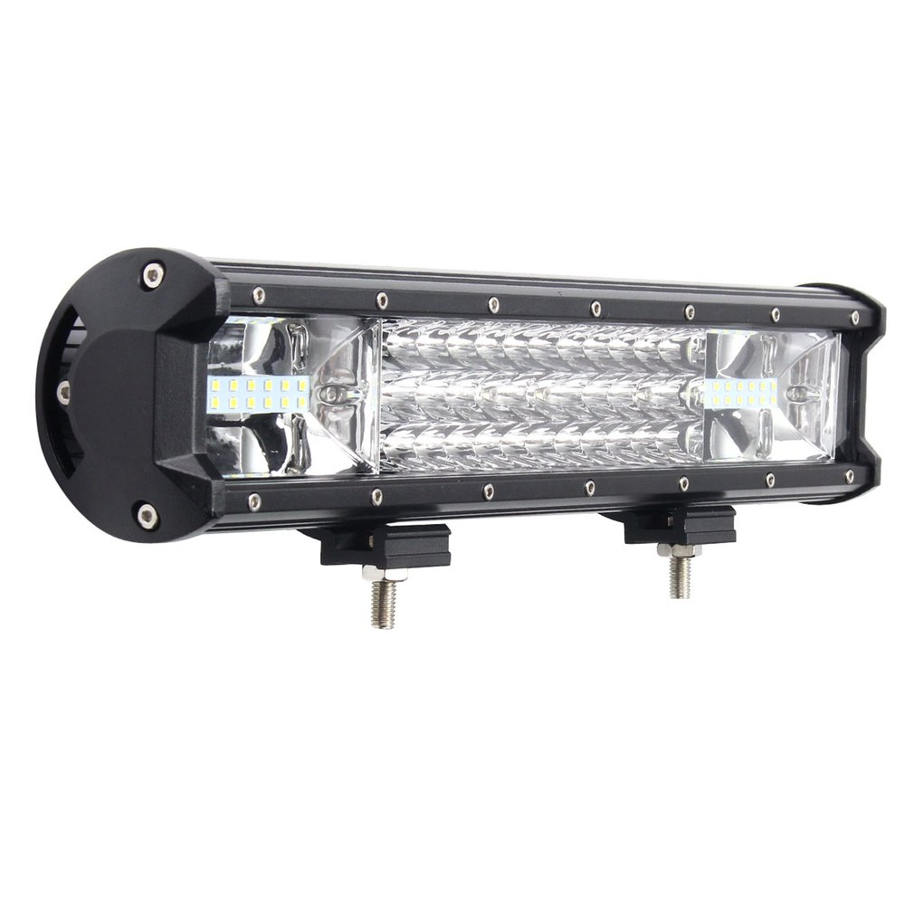 16 Inch 432W Triple-row 3 Rows 7D LED Work Light Long Bar Spot Light Flood Combo For Off-road SUV Truck Car Working Light