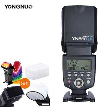 YONGNUO YN560IV YN560-IV YN560 IV bezprzewodowa lampa błyskowa speedlite YN560-TX II wyzwalacz do aparatu Canon Nikon Olympus Pentax Fuji tanie i dobre opinie CN (pochodzenie) 560IV with 560TX Canon NONE 0 78kg 5600K