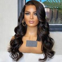 360 laço frontal peruca onda do corpo 13x4 perucas da parte dianteira do laço para o cabelo humano feminino perucas glueless virgem brasileiro 4x4 fechamento 180% densidade