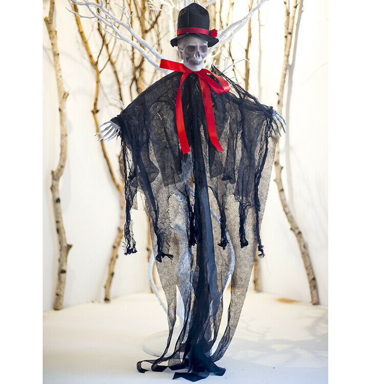 Skeleton Halloween Hanging Ghost Hand Scary Haunted House
