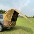 Палатка с защитой от ультрафиолетовых лучей для багажника автомобиля, туристическая палатка для самостоятельного вождения, барбекю, кемпи...