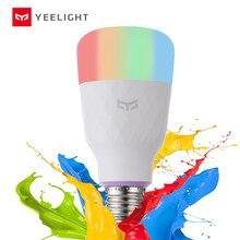 [英語版] yeelightスマートled電球1sカラフルな800ルーメン8.5ワットE27レモンスマートランプ用スマートホームアプリ白/rgbオプション