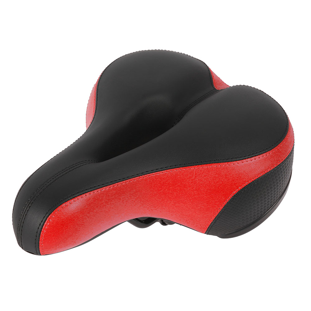 Clothing - Comfortable Wide Big Bum Bike Bicycle Gel Extra Sporty Soft Pad Saddle Seat
