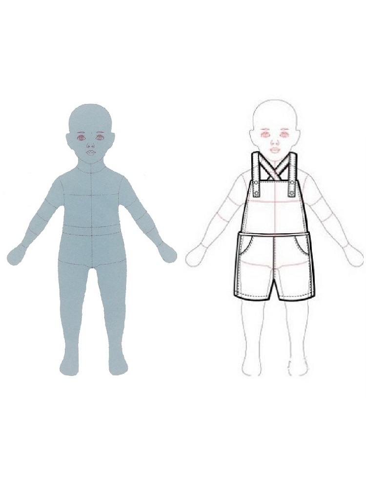 Best Deal C7307 Children Fashion Design Ruler Child Drawing Template Baby Cloth Template For Kids Nd Rankingrk Co