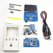 цены DSO150 15001K DIY Kit Digital Oscilloscope Unassembled With Housing DSO-Shell with Alligator Clips Case Cover