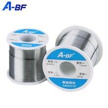 Fio A-BF g/100g/500g da lata da resina do rolo do brilho alto da solda do fio da lata 800g/0.6g para a estação de solda do ferro 0.8mm/1.0mm/mm