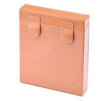 NiSi 휴대용 가죽 필터 스토리지 수호자 하드 케이스 파우치 가방 상자 150*150mm / 150*170mm 스퀘어 필터 6 슬롯
