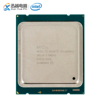 Intel Xeon E5 2650 v2 Desktop Processor 2650 v2 Eight Core 2.6GHz 20MB L3 Cache LGA 2011 Server Used CPU