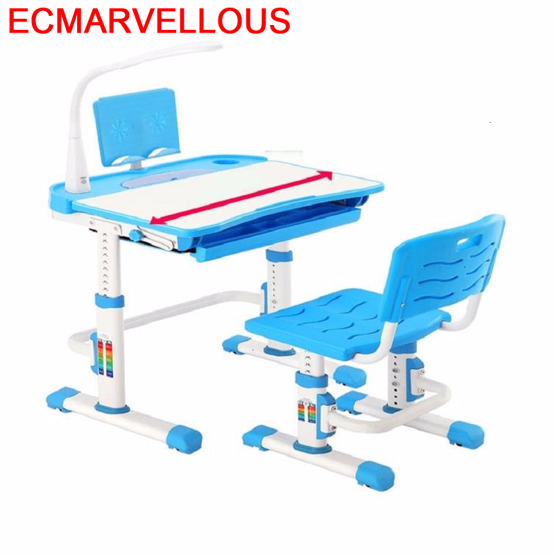 Avec Chaise Estudio Chair And Scrivania Bambini De Estudo Adjustable For Bureau Enfant Kinder Mesa Infantil Kids Study Table