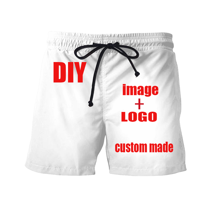 Custom Casual Shorts, DIY's Own Design. Harajuku Shorts LOGO+ Pictures = Your Own Design