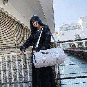 Image 3 - Bolsa de deporte impermeable para hombre y mujer, mochila de separación en húmedo seco para ejercicio de pelota, entrenamiento de baile, gimnasio, Fitness