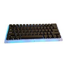 NPKC Schwarz ABS Gelasert Seite-Lit Top-Backlit Glanz Durch OEM tastenkappen für Cherry MX Schalter 61 64 87 96 108 mechanische Tastatur