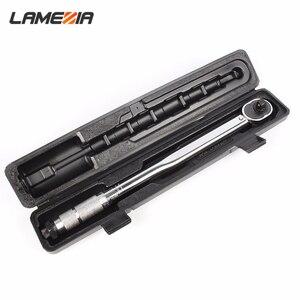 Ламеция 1/2 Универсальный динамометрический ключ привод двухсторонний прецизионный Трещоточный ключ для ремонта автомобиля ручные инструм...