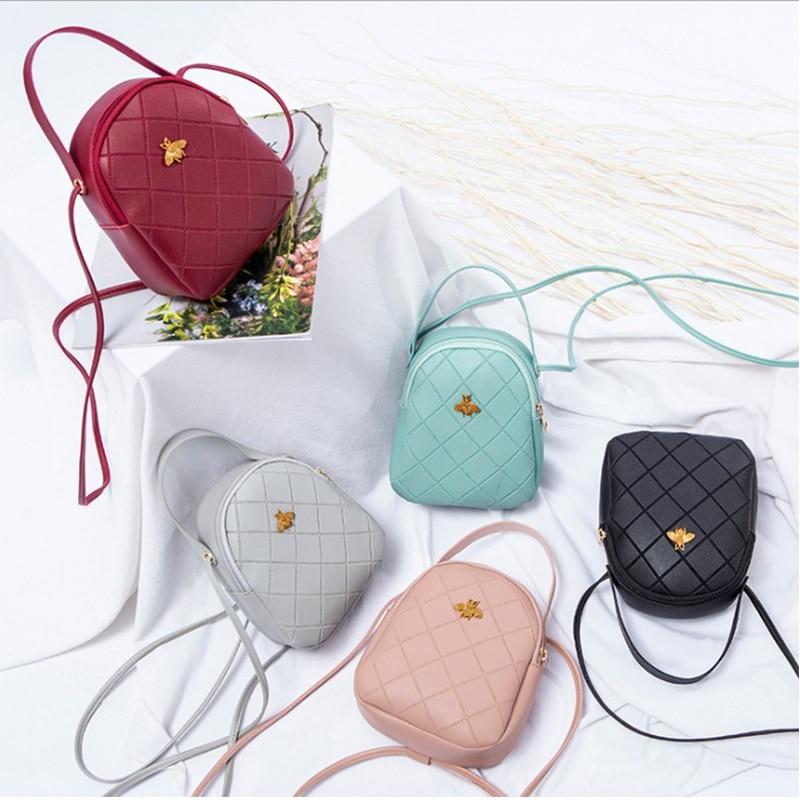 Mini Backpack Female PU Leather Shoulder Bag Teen Girl Child Multifunctional Small Girl Backpack Lady Bag Mountaineering Bag