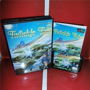 Image 1 - Twinkle Tale Japan 박스 및 설명서 커버 MD MegaDrive Genesis 비디오 게임 콘솔 16 비트 MD 카드