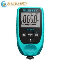 MILESEEY precyzyjny cyfrowy miernik grubości powłoki samochodowy detektor lakieru miernik grubości lakieru Auto Tester grubości