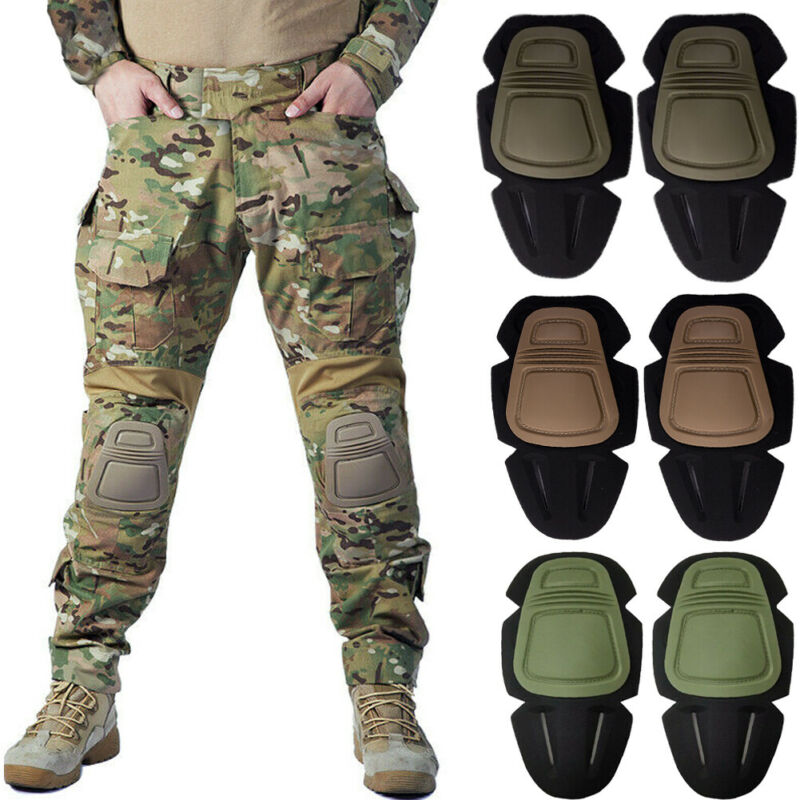 Tactical Protective Knee Pad Outdoor Sports Knee Pads Protective Combat Tactical Military Kneeboss Guard Gear