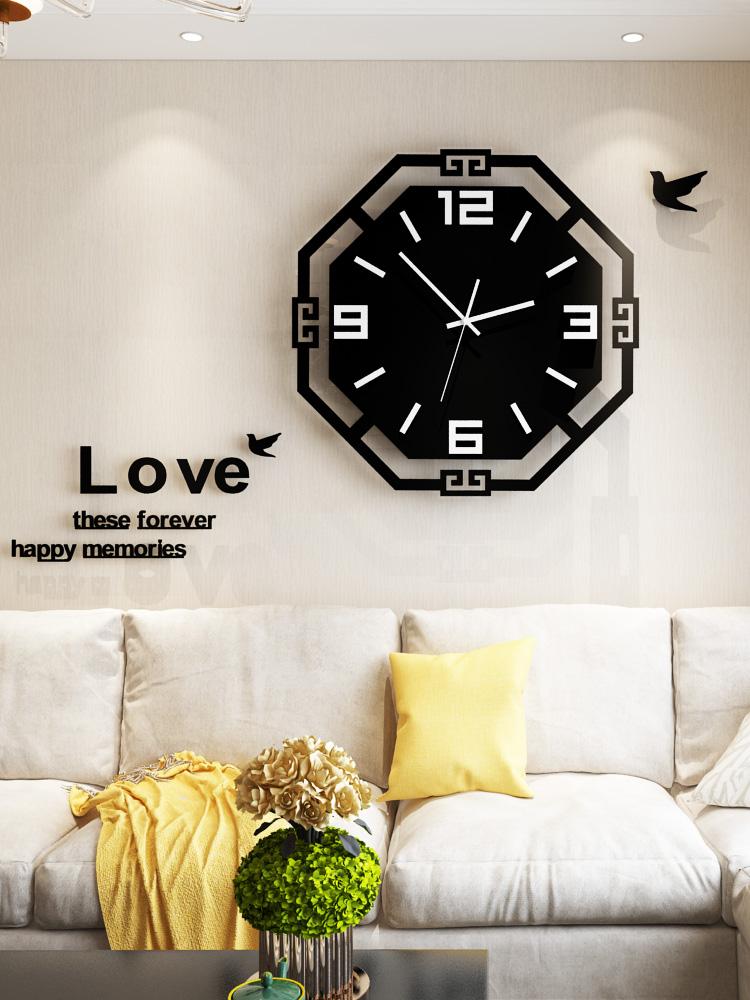 3d Acrylic Wall Clock Wall Modern Design Silent Quartz Watch For Kitchen Clock Living Room Wall Watch Decorative Bb50w Wall Clocks Aliexpress