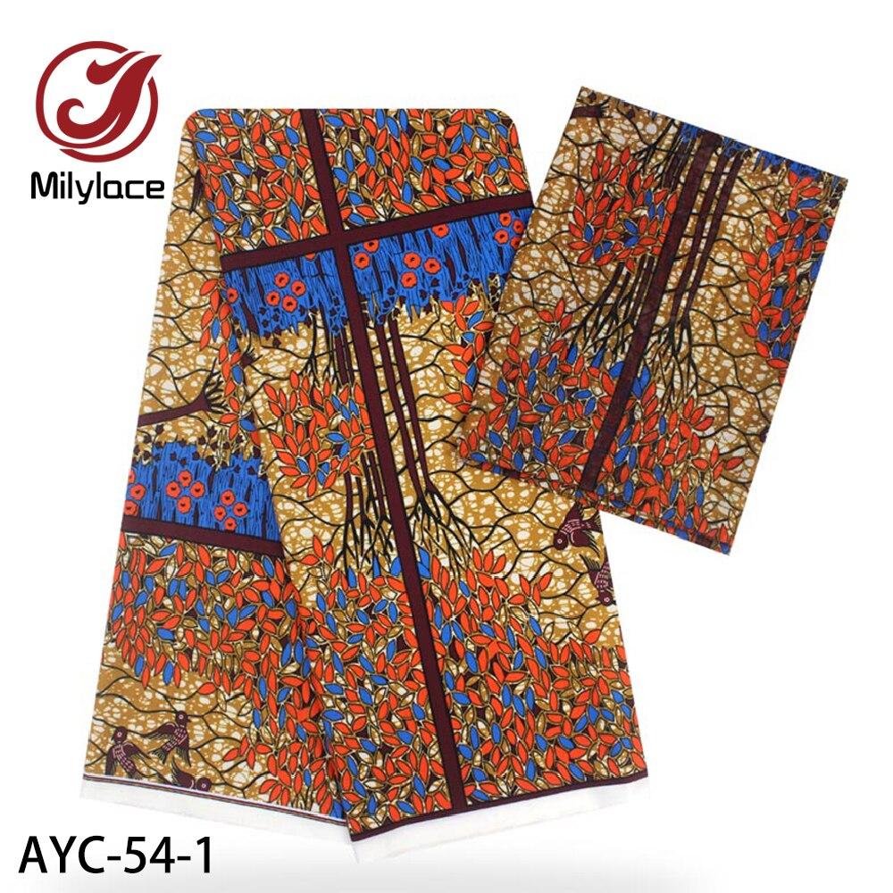 Tissu de soie en Satin nigérian Ankara   Nouveau Design de motif de cire africaine, tissu de soie de haute qualité pour robe, de nouvelle collection