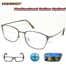 Мужские и женские очки по рецепту круглые фотохромные для чтения