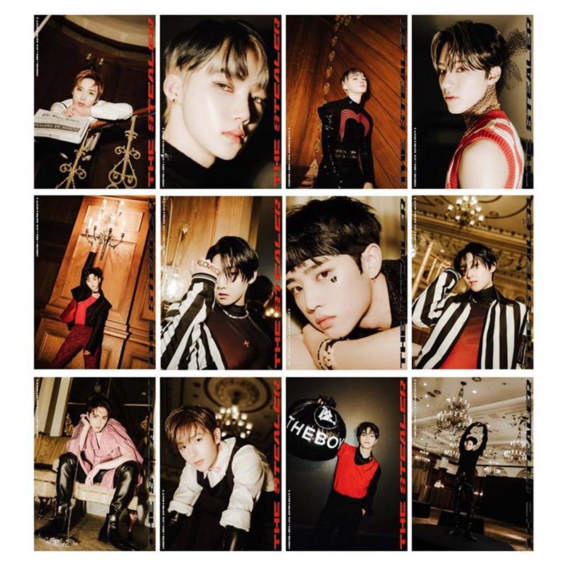 22 шт./компл. Kpop THE BOYZ Hunting альбом Фотокарточка ПВХ прозрачная Фотокарточка ЛОМО карточка фотография Lee Sang Yeon Bae Jun Young Jae Hyun