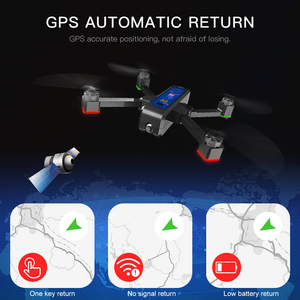 Image 5 - MJX Bugs 4W B4W Brushless RC Drone with Camera 4K 5G WIFI FPV GPS Ultrasonic Optical Flow Positioning Drone Foldable Quadcopter