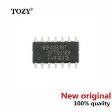 10pcs / lot new original Chip hef4081bt, 653 soic-14 4-way 2-input and gate logic chip