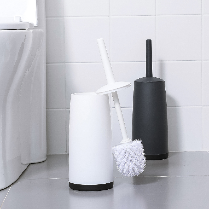 Household Toilet Toilet Brush Set Cleaning Long Handle To No Dead Ends Creative Toilet Brush Free Punching Soft hair