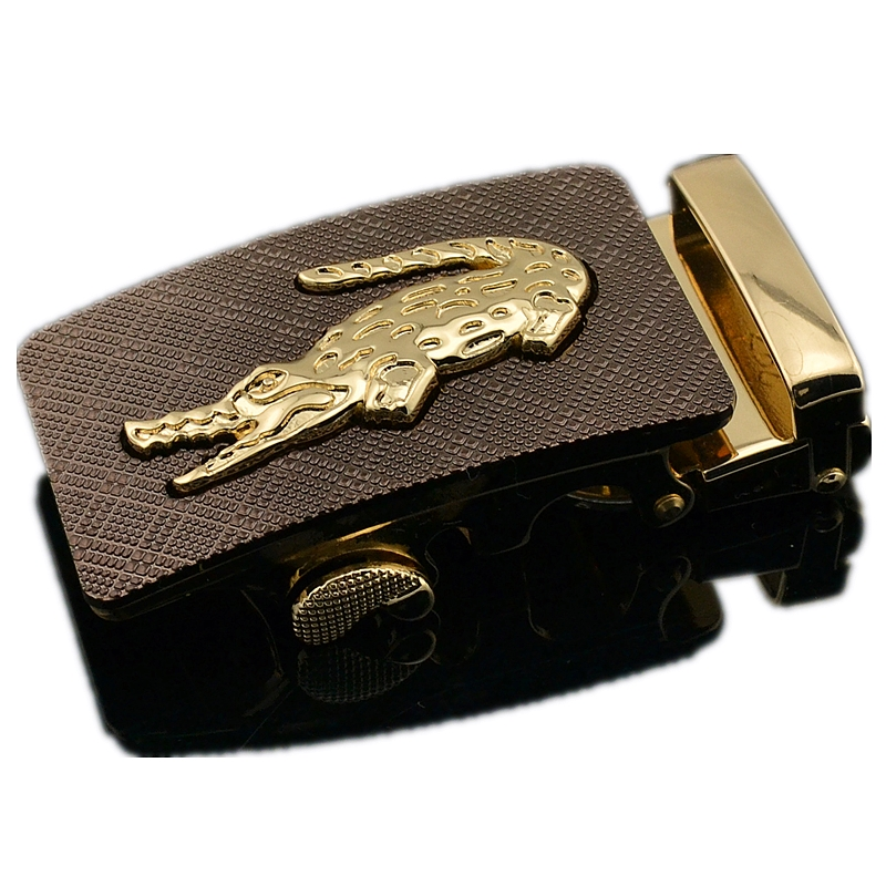 Men's Automatic Buckle Belt Does Not Contain Body Alloy Material Business Casual Style Suitable For Width 3.5cm Male Belt 2019