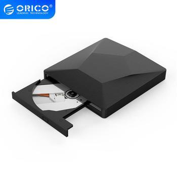 Внешний оптический драйвер ORICO, USB 3,0, CD/DVD-rom, комбинированный DVD RW rom, горелка для настольного компьютера, ноутбука, Windows, Mac OS, USB, CD-накопитель