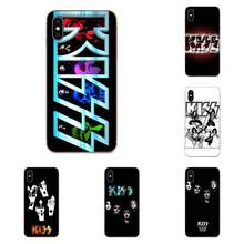 Lovely Phone Case For Huawei P7 P8 P9 P10 P20 P30 Lite Mini Plus Pro Y9 Prime P Smart Z 2018 2019 Gene Simmons Kiss Band Design(China)