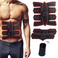 Smart Abdominal Training Pad Wireless EMS Muscle Stimulator Arm Muscle Toner ABS Trainer Body Slimming Belt Gel Pads health care