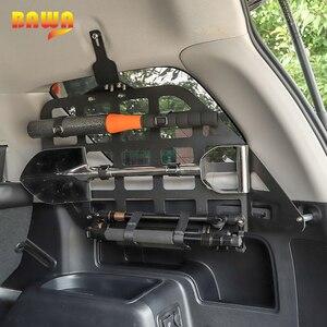 Image 5 - BAWA tylny regały akcesoria dla Toyota 4Runner bagażnik samochodowy półka uchwyt do przechowywania dla Toyota 4Runner 2010 + wyposażenie wnętrz