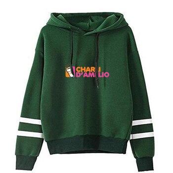 charli damelio merch Sweatshirt Men/Women Print Ice Coffee Splatter Hoodies Fashion Hip Hop hoodie Pullovers Tracksuit Clothes 6